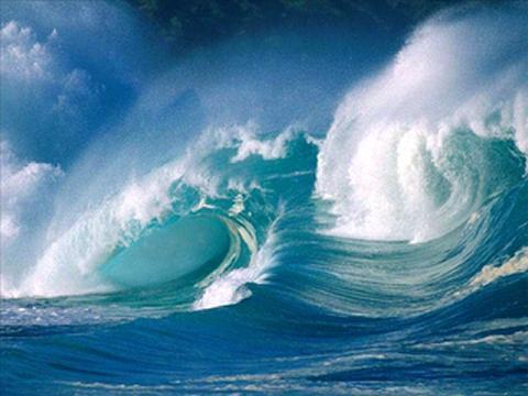Nuestro Mar,altivo y peligroso,pero así también protector